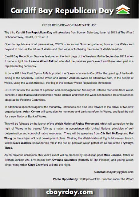 WelshnotBritish com: 2013