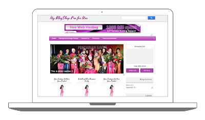 Blogger Shoppinc Cart Theme