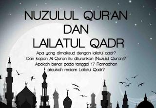 Keutamaan Malam Nuzulul Qur'an