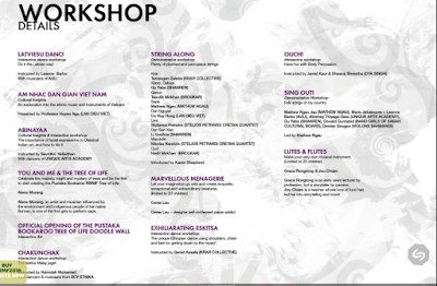 Jadwal workshop RWMF