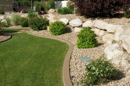 garden design ideas: Landscaping Layout Tips for back ... on Back Garden Ideas id=29801