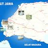 Peta Kabupaten Bangkalan Lengkap 18 Kecamatan