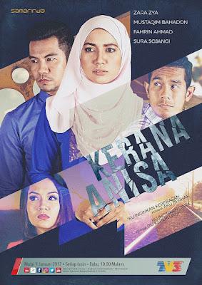 drama kerana anisa tv3