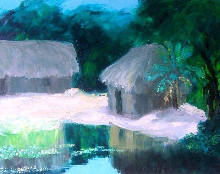 Вьетнамский художник. Tran Tuan