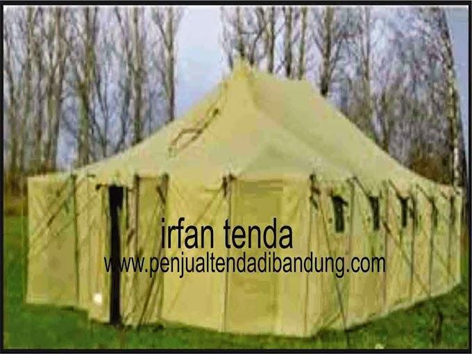 PENJUAL TENDA PLETON TNI