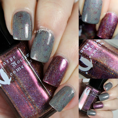 Octopus Party Nail Lacquer + Carpe Noctem Cosmetics