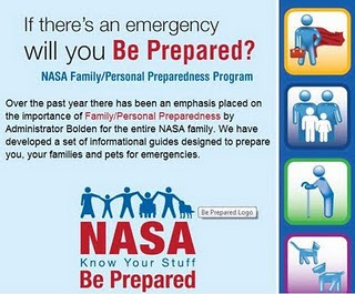 Nasa plan de emergencia ante catastrofes