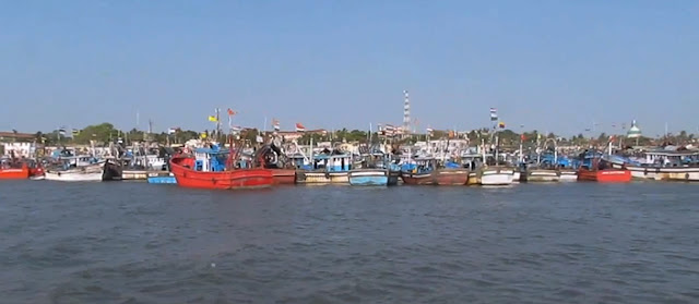 Fishing boats at Bunder, Mangalore