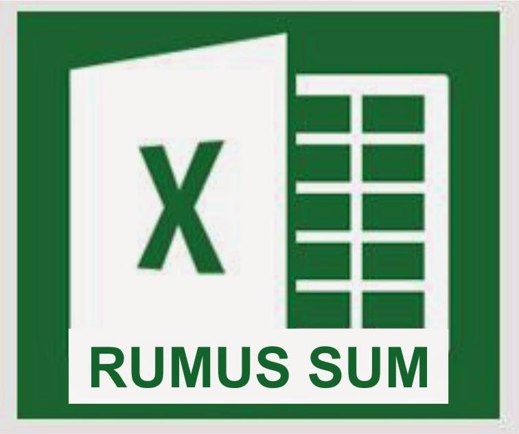 Fungsi Rumus SUM di Microsoft Excel 2013