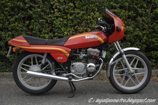 Les cousines Benelli / Moto Guzzi 254 (Années 70) _DSC0006