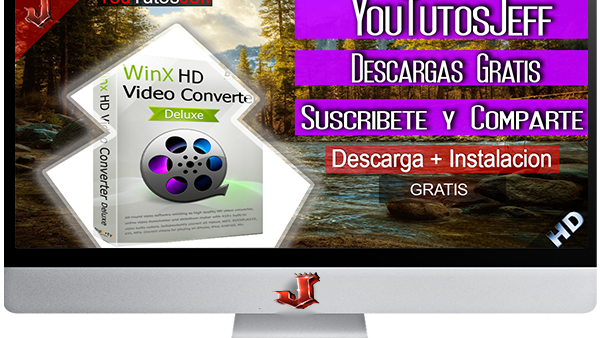 WinX HD Video Converter Deluxe 5.9.4.261 FULL ESPAÑOL | 2016