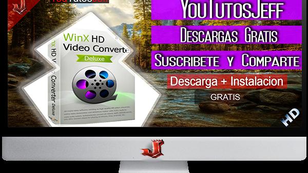 WinX HD Video Converter Deluxe 5.9.4.261 FULL ESPAÑOL | 2016