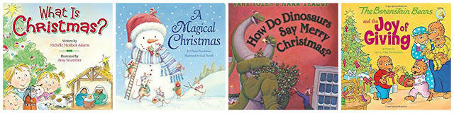 reading christmas stories, count down with christmas books, family story time at christmas