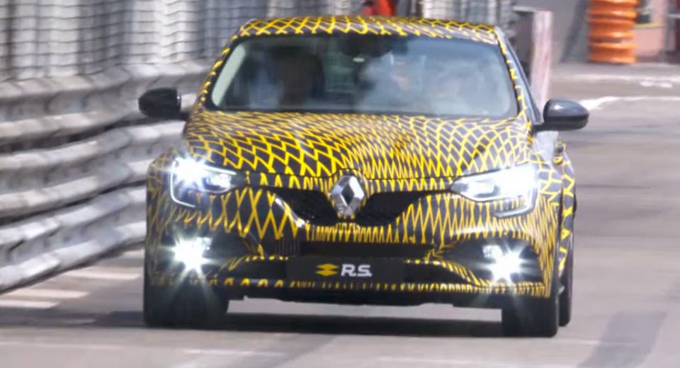 2018 renault clio rs. wonderful clio 2018 renault megane rs debuts in monaco confirms dualclutch transmission renault clio rs
