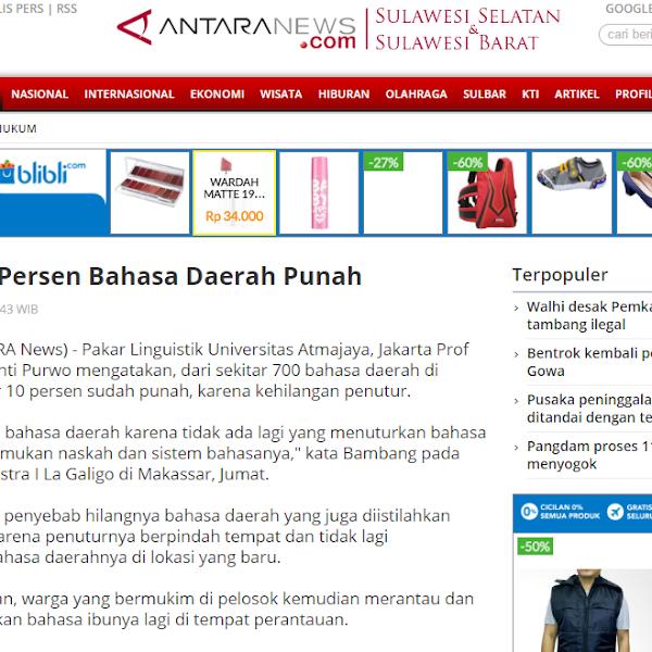 Ancaman Kepunahan dan Klaim Budaya Indonesia