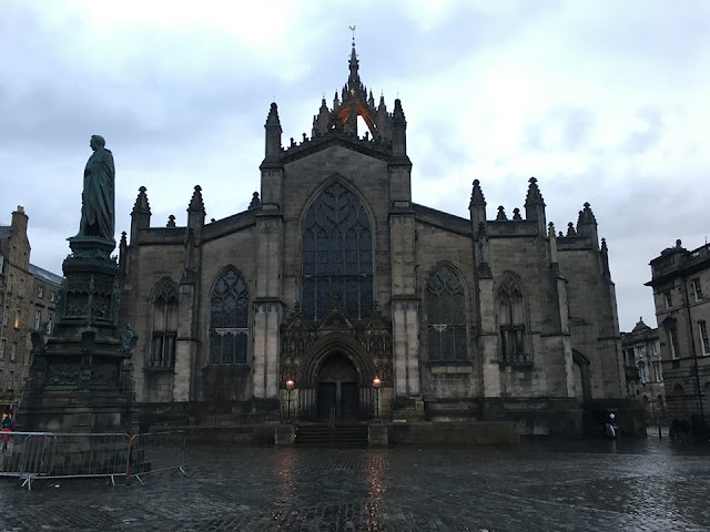 St Giles Cathedral Edinburgh Scotland