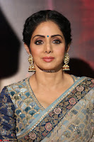 Sri Devi in designer saree stunning beauty at the launch of MOM movie Trailer~  Exclusive 019.JPG