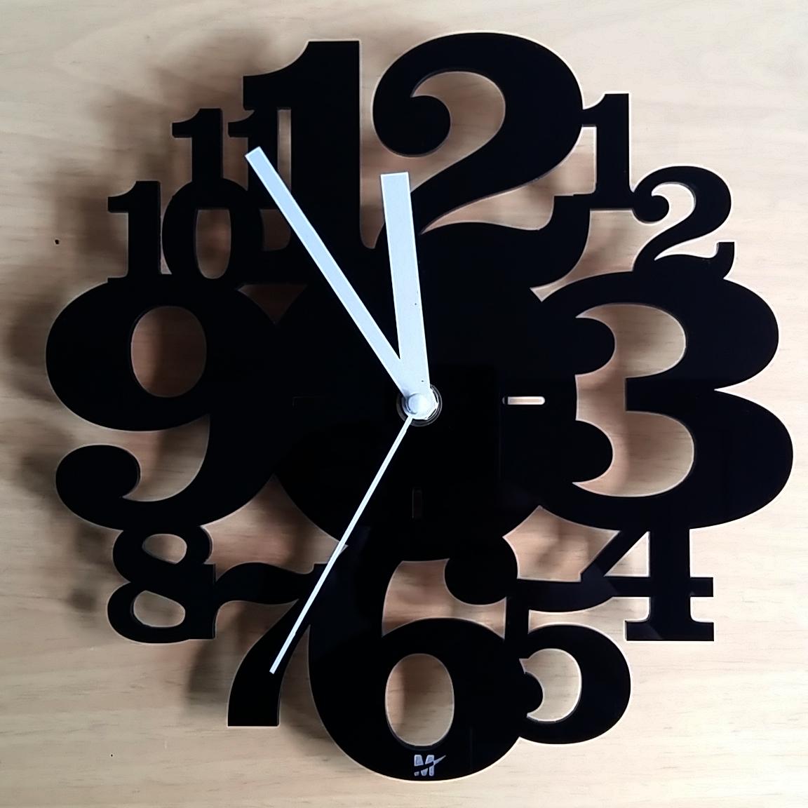 Membuat Jam Dinding Unik dari Acrylic - sign.co.id 24eb54a41d