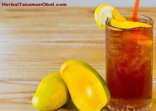 cara membuat teh mangga, resep es teh mangga segarkan dahaga, teh mangga untuk obat diabetes, manfaat teh mangga bagi kesehatan, khasiat teh mangga untuk kesehatan, resep cara membuat es teh mangga yang enak, resep teh mangga