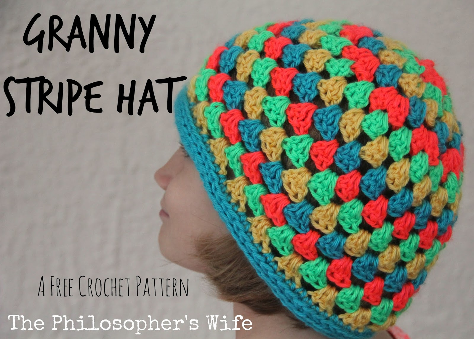 The Philosopher\'s Wife: Granny Stripe Hat