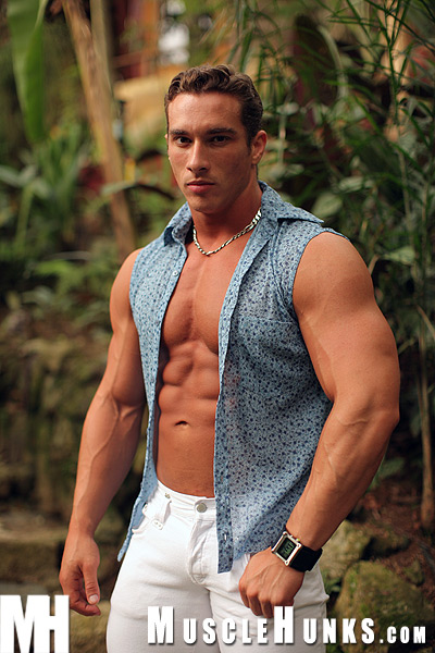 MuscleHunks Herman Jurado Cover Front