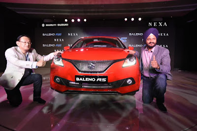 New 2017 Maruti Suzuki Baleno RS launching event