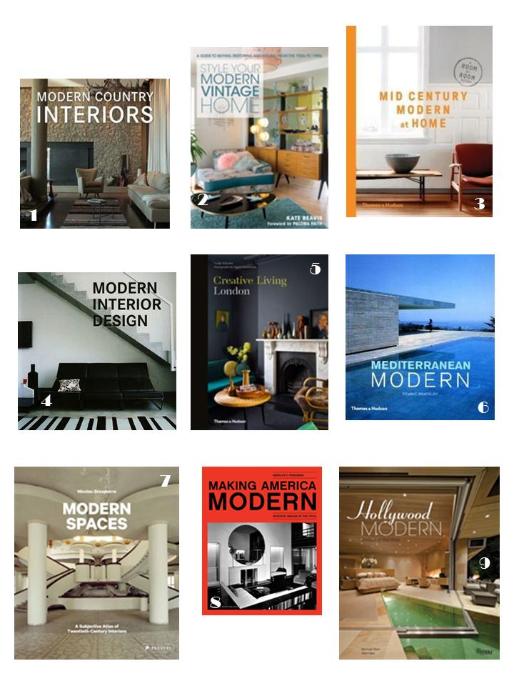 modern interiors style books