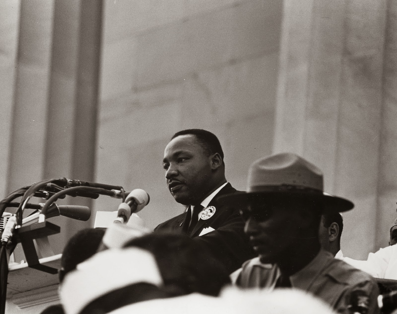 Martin Luther King Jr: Dr. Martin Luther King And Edward B Footmon.Civil Rights