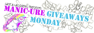 Lace and Lacquers: 6/1 Manic-ure Giveaways Monday