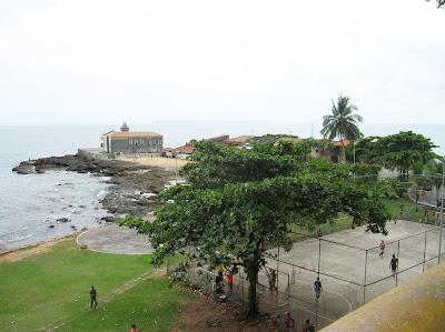 Igleja Nossa Senhora Forte do Monte, Punta de Humaita, Salvador de Bahía, Brasil, La vuelta al mundo de Asun y Ricardo, round the world, mundoporlibre.com