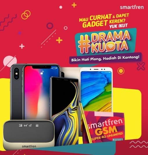 Curhat Drama Kuota Berhadiah Smartphone