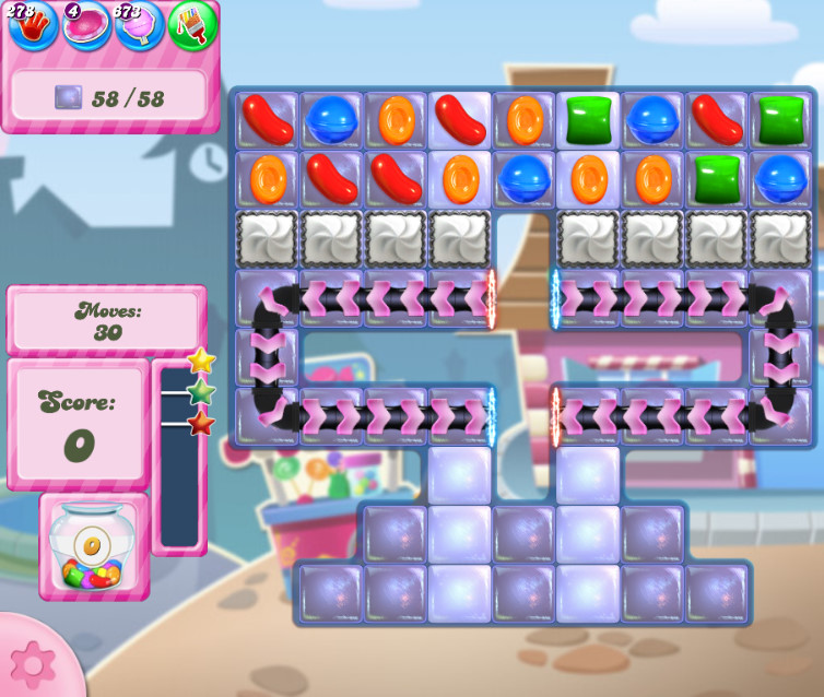 Candy Crush Saga level 2723