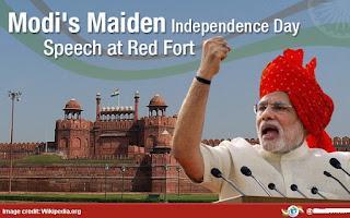 modi speech at red fort