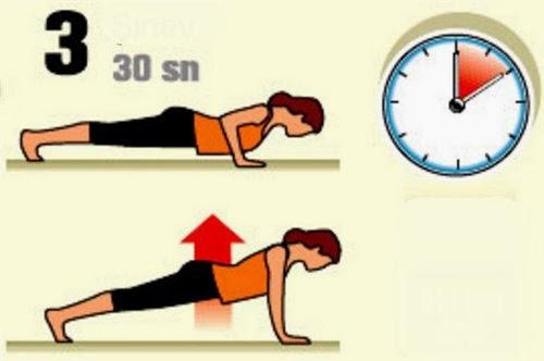 evde zayıflama egzersizleri