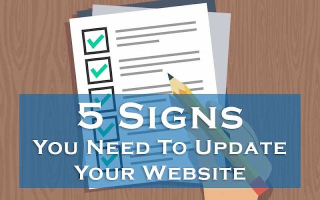 Signs that you need to update your website