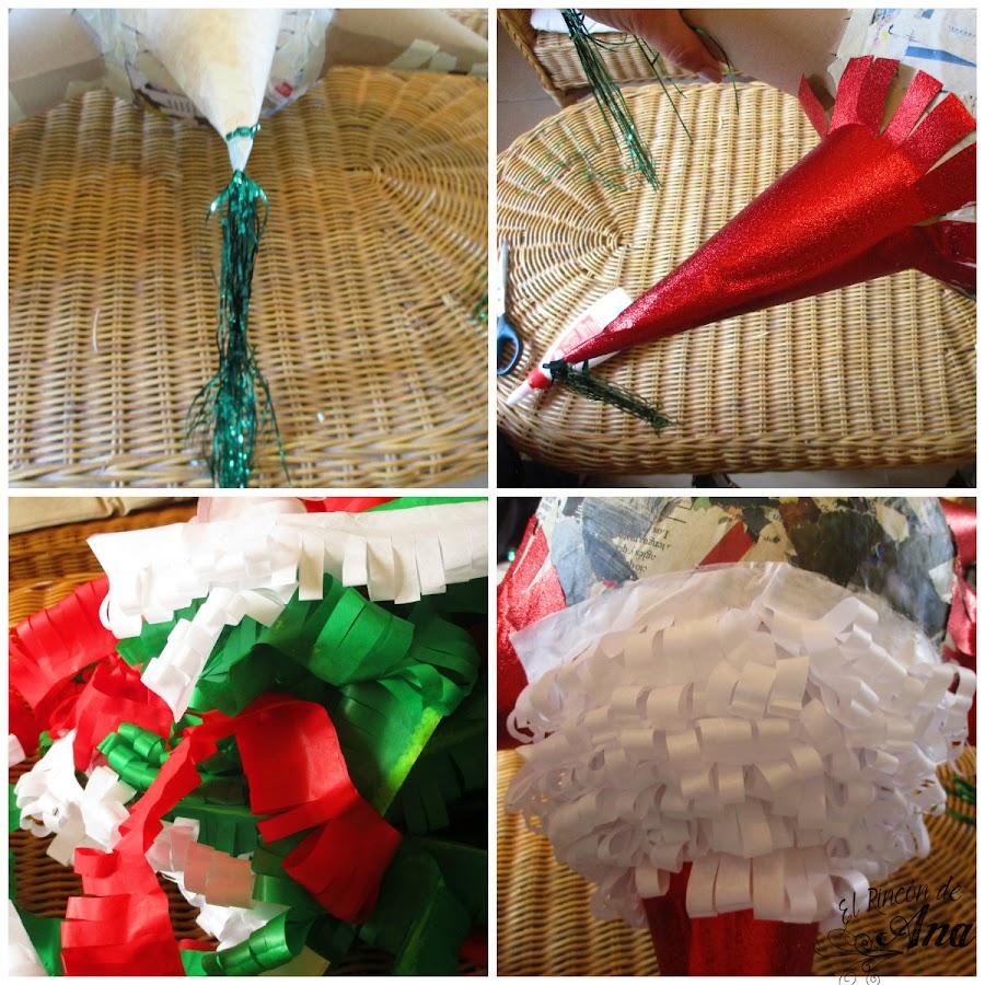Tradicional piñata navideña