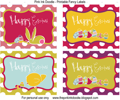 photograph regarding Printable Easter Tags named Craftionary