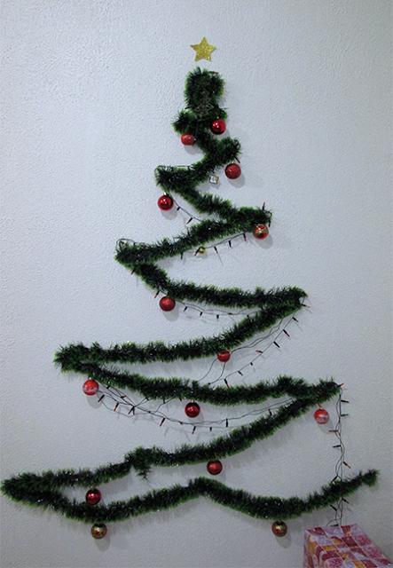 DIY Árvore de Natal: passo 6