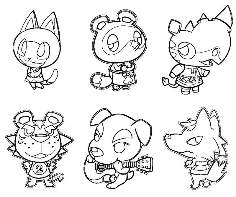 Astounding Hairstyle Animal Crossing New Short Hairstyles Gunalazisus