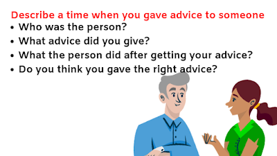 Describe a Time When You Gave Advice to Someone