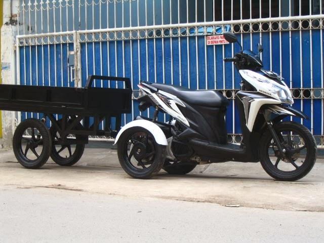 Terpopuler 37 Modifikasi Motor Gerobak