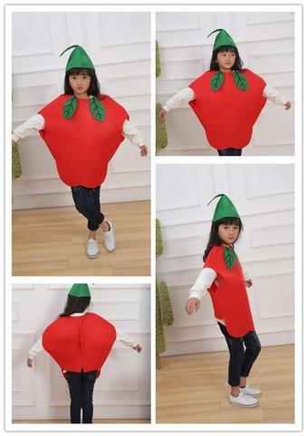 ideas para disfraz casero de manzana