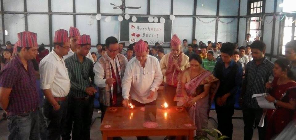 Cottonian Gorkha Unit 'Ramailo Vetghat' held in Guwahati