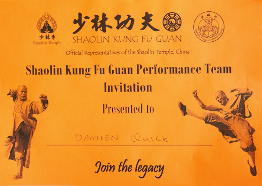 Shaolin Week 34. No I haven't quit.