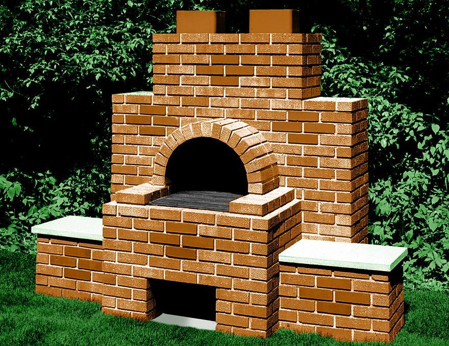 Brick Driveway Image Brick Barbecue