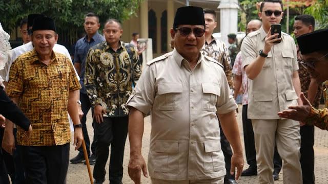 Soal Debat Bahasa Inggris, Prabowo: Tak Perlu, Pakai Bahasa Kebangsaan Saja
