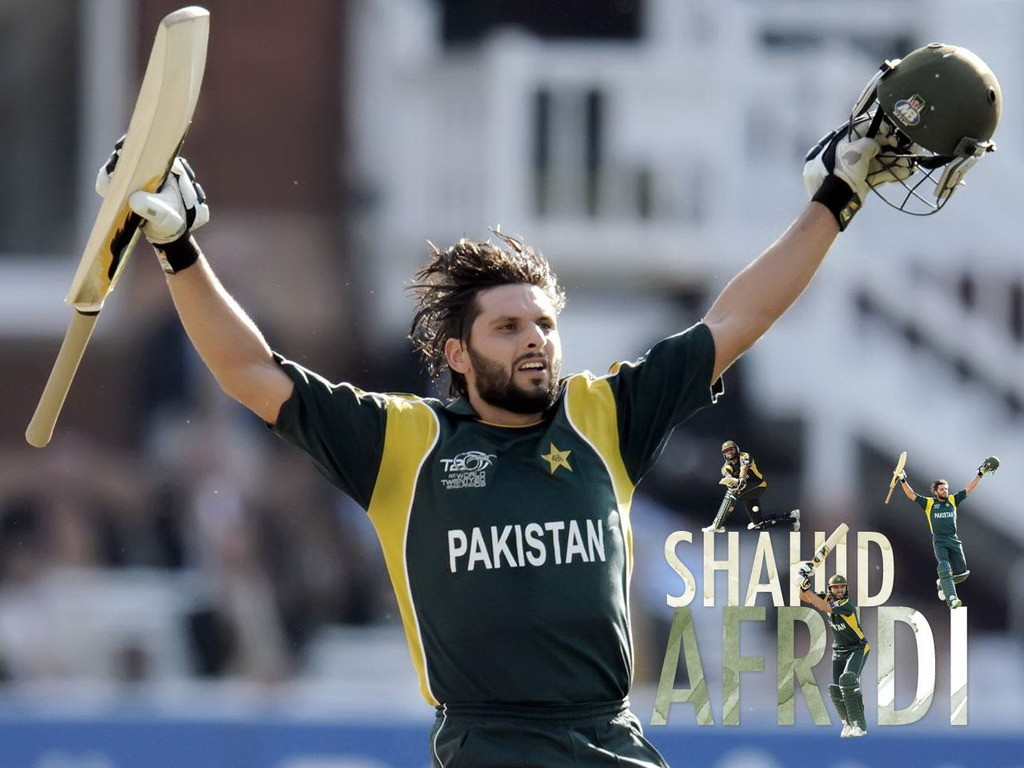 Shahid Afridi HD Wallpapers, Images, Photos, Pictures