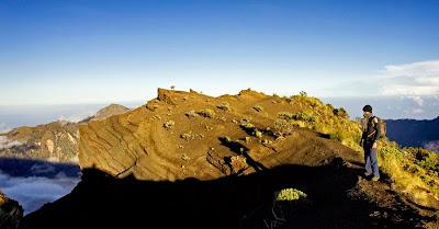 Location Plawangan Sembalun Crater Rim altitude 3000 m of Mount Rinjani