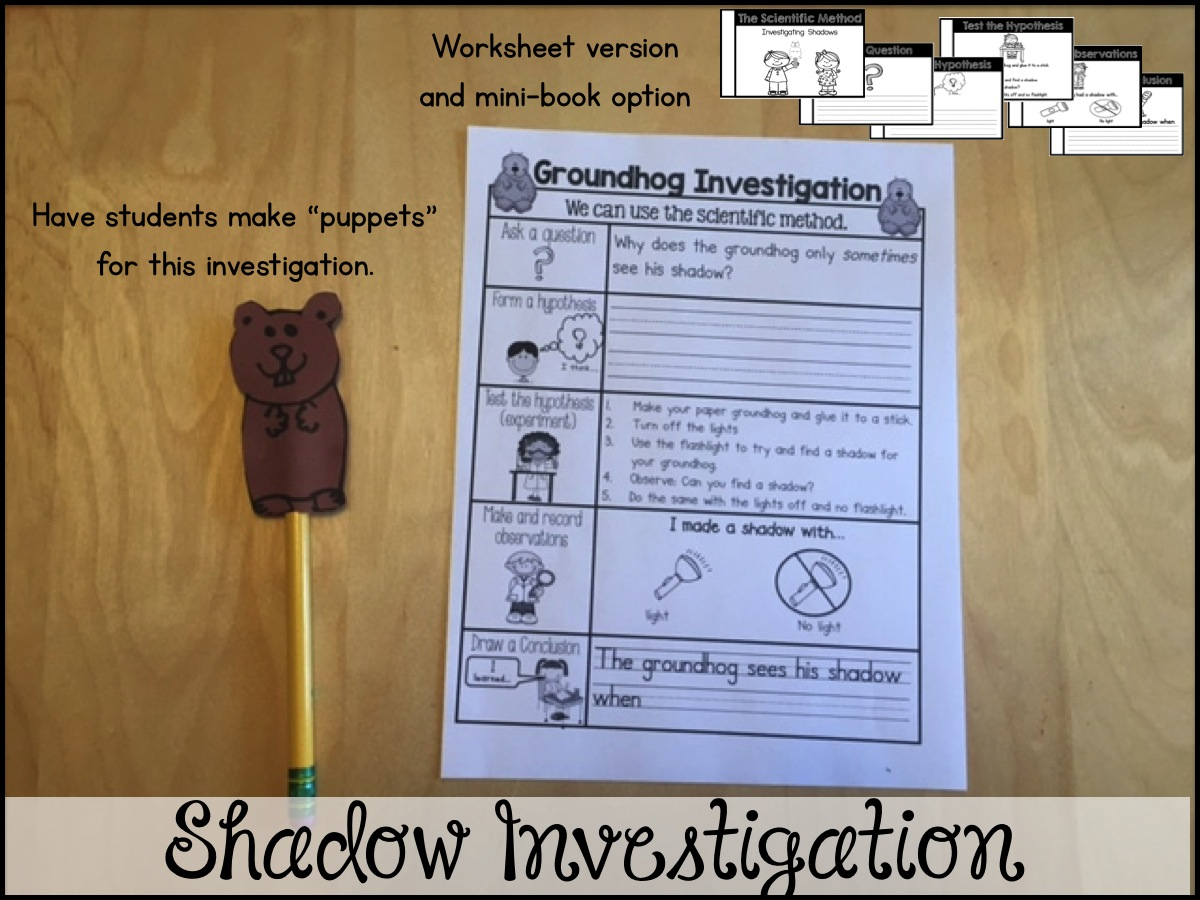 Sarah S First Grade Snippets Groundhog Day Fun