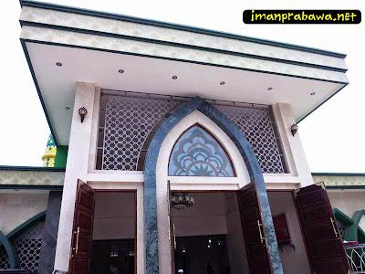 Masuk Mesjid Raya Tanjung Pinang